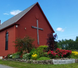 Orchard Community Church in the Summer